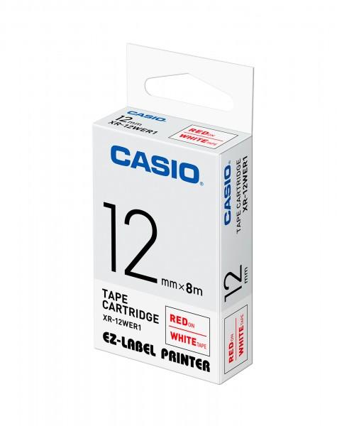 Casio XR-12WER1 Beschriftungsband