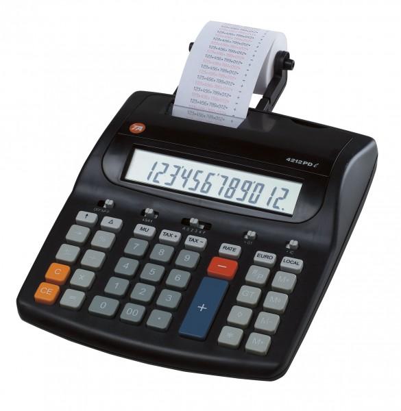 Triumph-Adler TA 4212 PDL druckender Tischrechner
