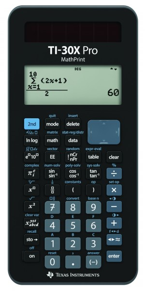 Texas Instruments TI-30X Pro MathPrint