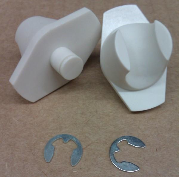 A+K VisuLine Polyamid-Gleiter Set