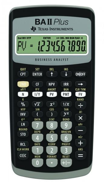 Texas Instruments TI-BA II+