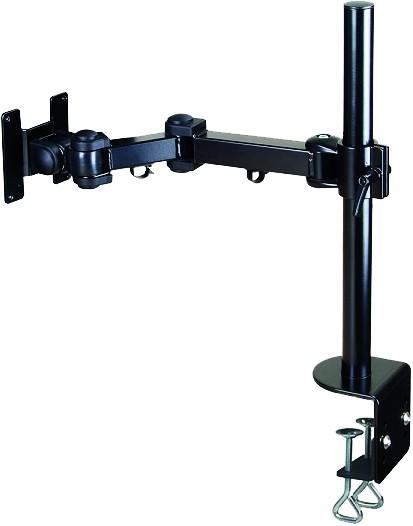 D171x / Monitorarm mit Tisch-Säule, Klemmmontage und Höhenverstellung