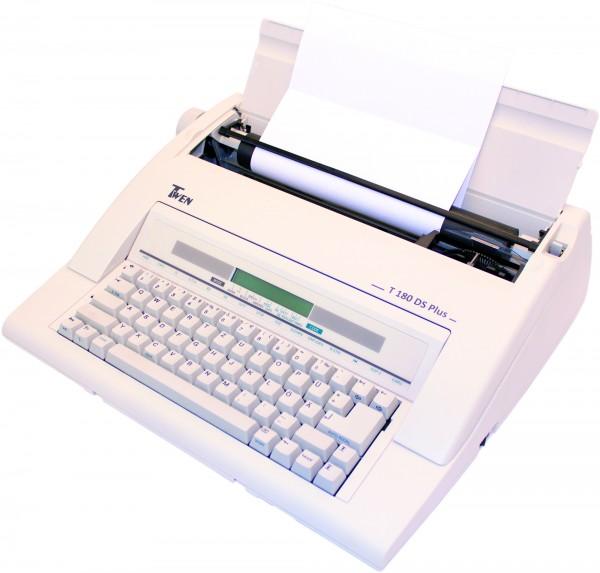 Twen 180 DS PLUS elektronische Schreibmaschine mit Display und Speicher