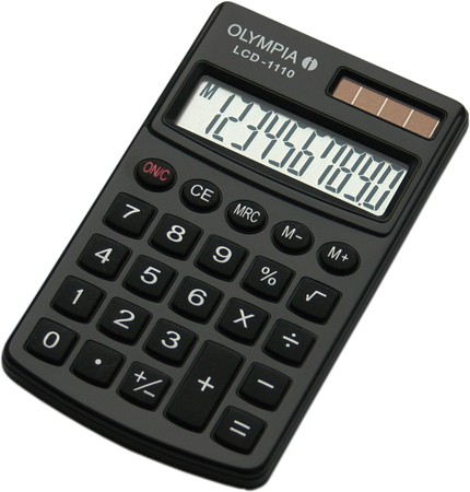 Olympia LCD 1110 BK