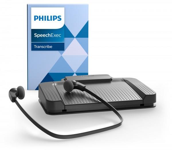 PHILIPS LFH 7177 Wiedergabeset mit SpeechExec Basic Transcribe V11