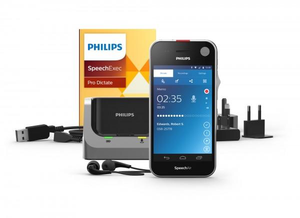 PHILIPS PSP 2100/00 Handdiktiergerät