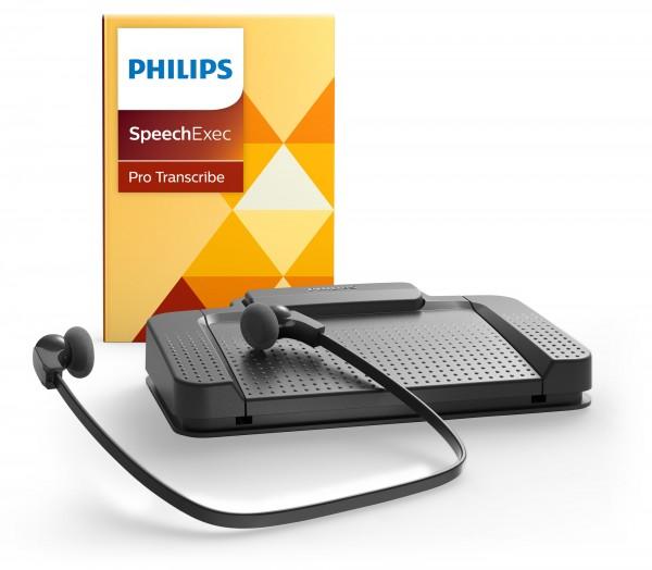 Philips LFH 7277 professionelles Wiedergabeset mit SpeechExec PRO Transcribe