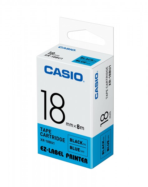 Casio XR-18BU1 Beschriftungsband