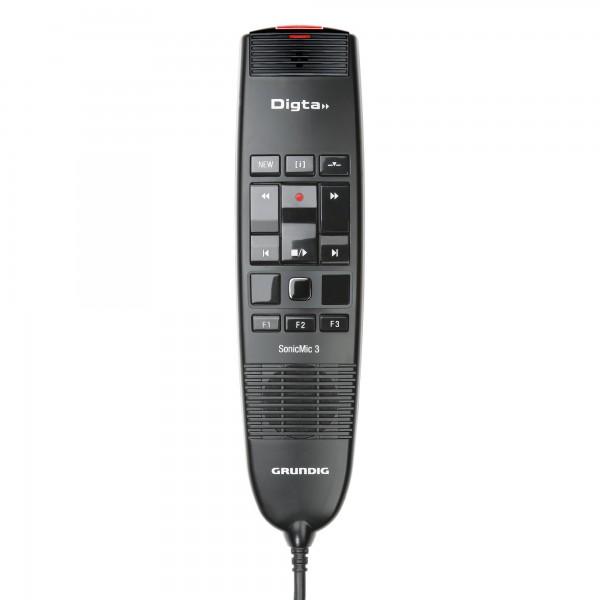 Grundig GDD8300 Digta SonicMic 3 OHNE DigtaSoft Pro
