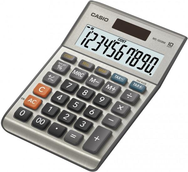 Casio MS-100BM, 10-stelliger Tischrechner