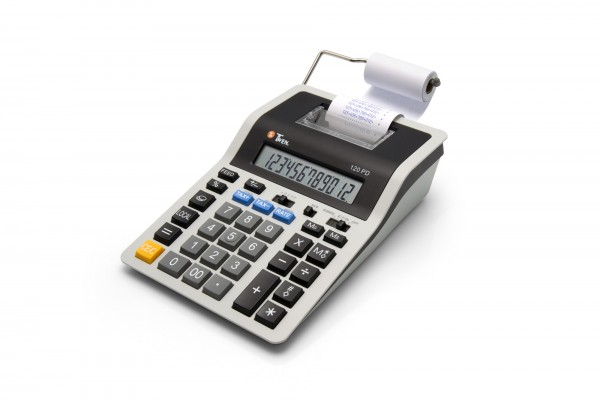 Der Twen 120 PD ist die neue Mittelklasse unter den druckenden Tischrechnern von Twen