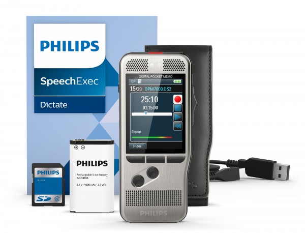 Semiprofessionelles Handdiktiergerät Philips DPM 7000