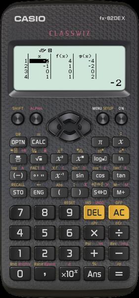 Casio FX-82DE X