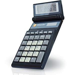 Triumph-Adler TA L 819 Taschenrechner mit KLappdisplay