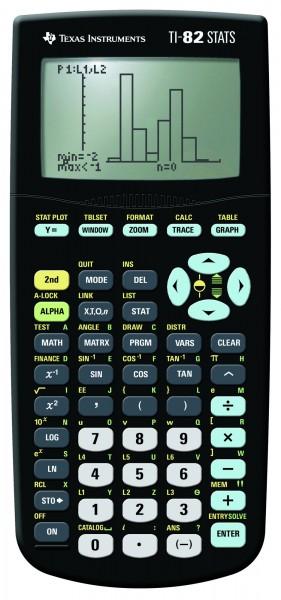Texas Instruments TI-82 Stats