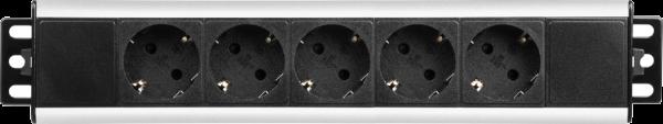 Filex - 5-polige Steckdosenleiste inkl. Montagewinkel