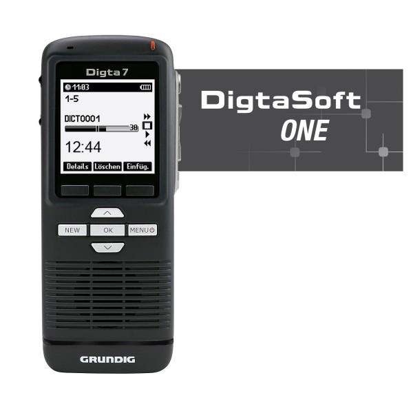 Grundig PDM7010-12 Digta 7 Push mit DigtaSoft One
