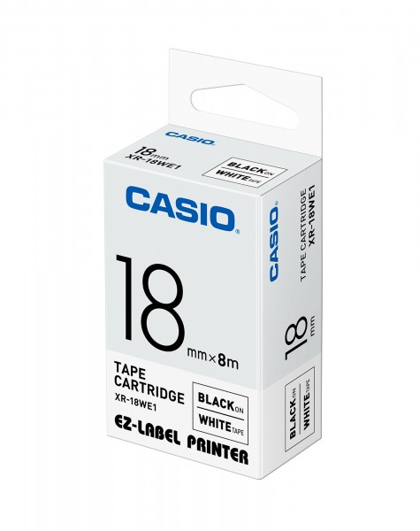 Casio XR-18WE1 Beschriftungsband