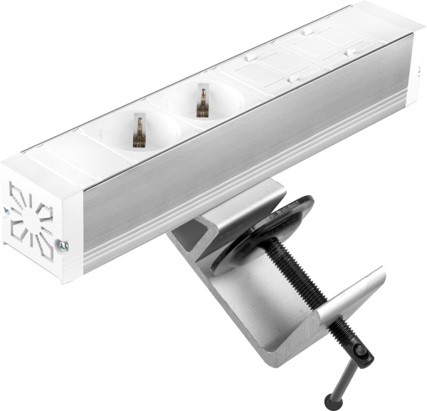 Filex - Power-Desk-up® (2x 230V + 2x Keystone, GST18 - 20cm)