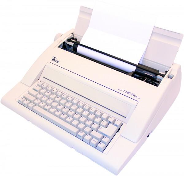 Twen 180 PLUS elektronische Schreibmaschine