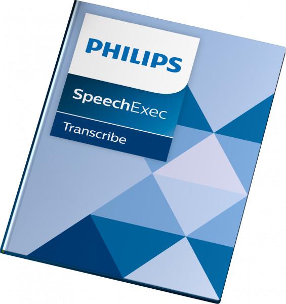 Philips LFH 4612 SpeechExec Standard Transcribe Einzelplatzlizenz, Softwareversion 11