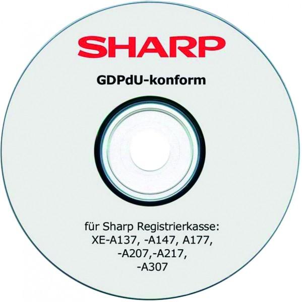 SHARP XE-A GDPdU